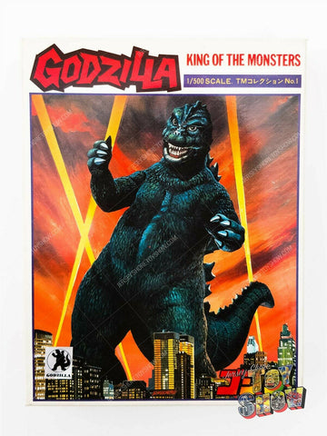 Vintage Yamakatsu Japan Godzilla 1/500 scale model kit MIB unused - Kaiju