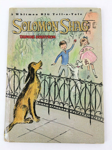 1965 Whitman BIG Tell-A-Tale Solomon Shag Hogstrom hardcover children's book