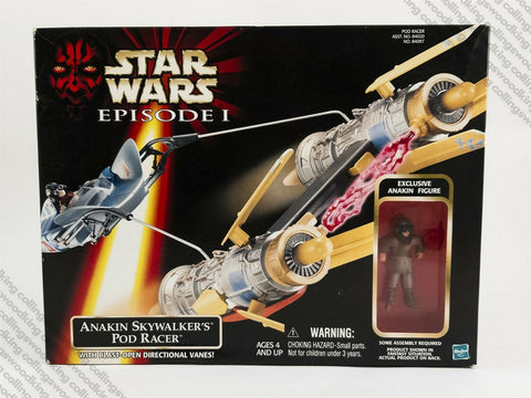 1998 Hasbro Star Wars Episode 1 Anakin Skywalker's Pod Racer vehicle MISB