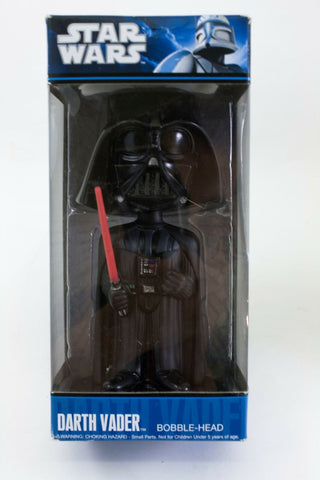 2010 Funko Wacky Wobblers Star Wars Darth Vader bobble-head figure mint in box