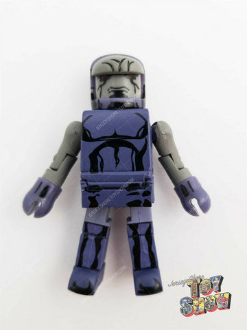 2005 DC Minimates / C3 Construction Darkseid figure from Throne Room playset