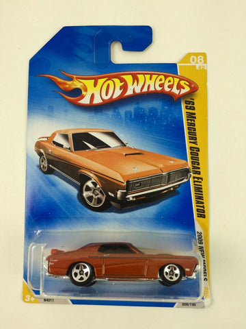 Mattel Hot Wheels 2009 New Models #008 '69 Mercury Cougar Eliminator MOC