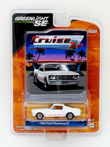 Greenlight Cruise In Mustang Edition 1965 Ford Mustang GT 1:64 diecast car MOC