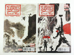 Marvel Deadpool's Art of War 2014 #1 & 2 comic book lot - NM