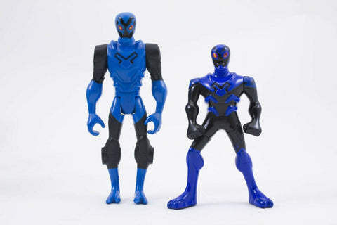 Mattel Batman Brave & The Bold Cyber Tank Blue Beetle action figure Super Heroes