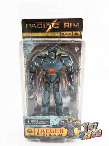 "2013 NECA Pacific Rim Jaeger Gipsy Danger 8"" action figure mint on card MOC NEW"