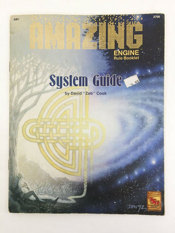 1993 TSR Amazing Engine AM1 Rule Booklet System Guide