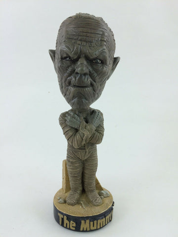 1999 Sideshow Universal Studios Monsters The Mummy bobble head figure MIB