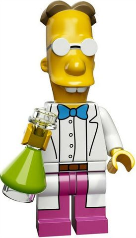 2015 LEGO #71009 The Simpsons Minifigures series 2 #9 Professor Frink minifig