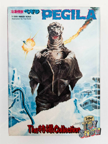 Vintage Bandai Japan Tokusatsu Collection #6 Pegila model kit MIB unused Kaiju