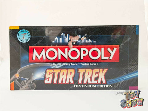 2009 Hasbro Monopoly Star Trek Continuum Edition board game MISB - NEW SEALED