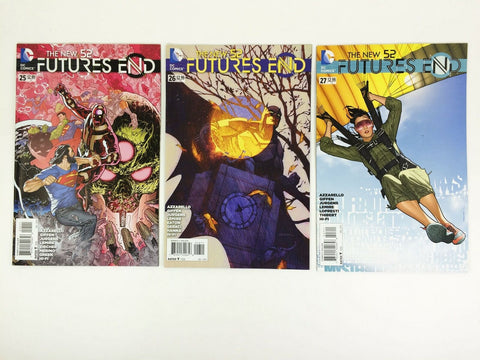 DC The New 52 Futures End 2014 #25 - 27 comic book lot - NM