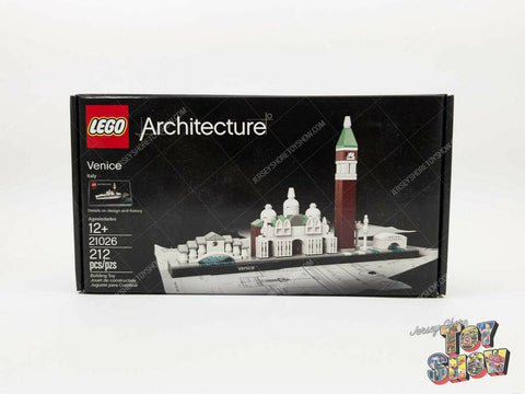 2016 LEGO Architecture #21026 Venice Italy set MISB mint sealed - NEW RETIRED