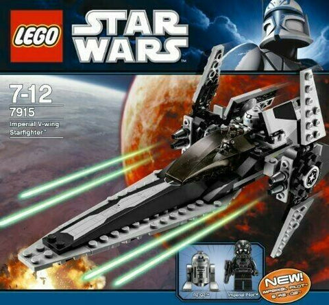 2011 LEGO Star Wars Clone Wars #7915 Imperial V-wing Starfighter MISB sealed NEW