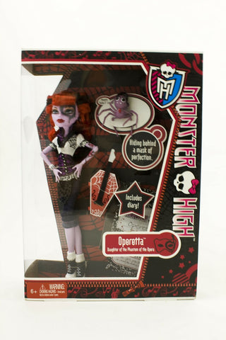 2011 Mattel Monster High Operetta doll First Wave NEW mint in sealed box