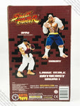 "2005 SOTA Street Fighter Rotocast series Sagat 10"" action figure MISB - Capcom"