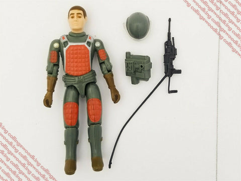 "Vintage 1982 Hasbro G.I. Joe Straight Arm Flash 3 & 3/4"" action figure complete"
