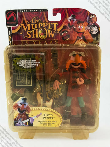 2002 Palisades The Muppet Show Series 2 Floyd Pepper action figure MOC