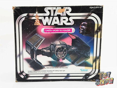 Vintage 1978 Kenner Star Wars Darth Vader TIE Fighter vehicle in original box