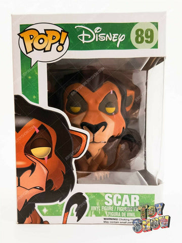 Funko POP! Disney #89 The Lion King Scar vinyl figure mint in box MIB VAULTED