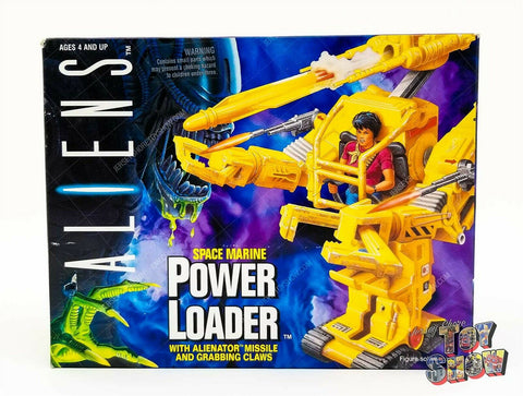 Vintage 1992 Kenner Aliens Space Marine Power Loader mint in sealed box MISB