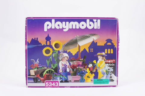 Vintage Playmobil 5343 Victorian Mansion Flower Market set NEW & UNOPENED