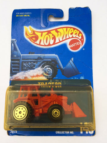 Vintage 1991 Mattel Hot Wheels #145 Tractor mint on card MOC