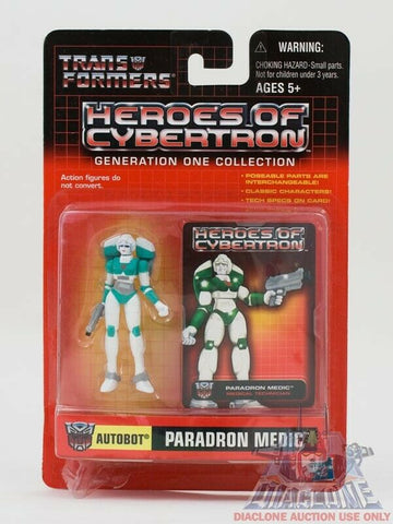 Hasbro Transformers Heroes of Cybertron HOC Paradron Medic PVC figure MOC