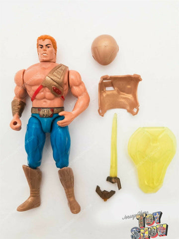 Vintage 1989 Mattel New Adventures of He-Man Sword Action He-Man action figure