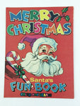 1971 National Bank & Trust Co. of Ann Arbor Santa Claus Christmas Fun Book