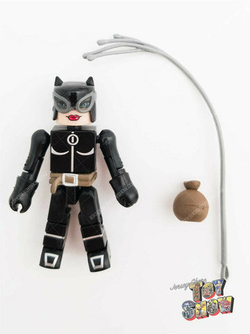 2004 DC Minimates / C3 Construction Catwoman figure from Batglider vehicle