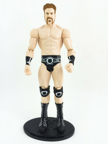 2012 Mattel WWE Wrestling Basics Series 20 Sheamus action figure