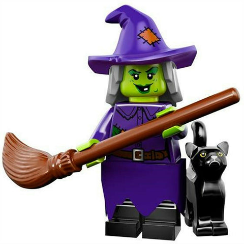 2015 LEGO #71010 Minifigures Series 14 Monsters #4 Wacky Witch minifig