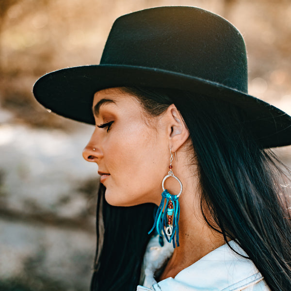 How To Wear Long Earrings Like A Boss