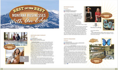Editorial in Winter Issue of Distinctly Montana Magazine, page 87