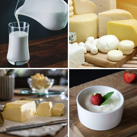 Dairy products for National Dairy Month