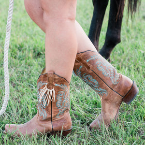 Boot Bling Cowgirl Boot Fringe Accessories in Buckskin