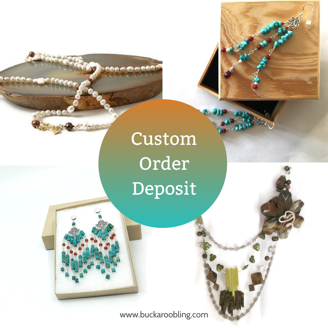 Unique Custom Orders: Design Deposit for Custom Bling