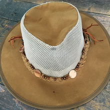 Load image into Gallery viewer, Boho western gypsy style hat band with pearls