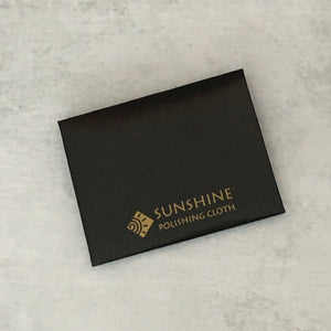 Mini package of Sunshine jewelry polishing cloth