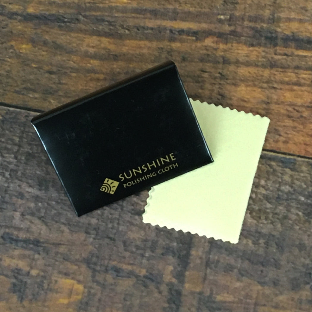 Personal size Sunshine jewelry polishing cloth