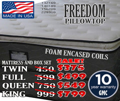Freedom Pillowtop Set