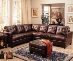 The Samual Leather Sofa Goup