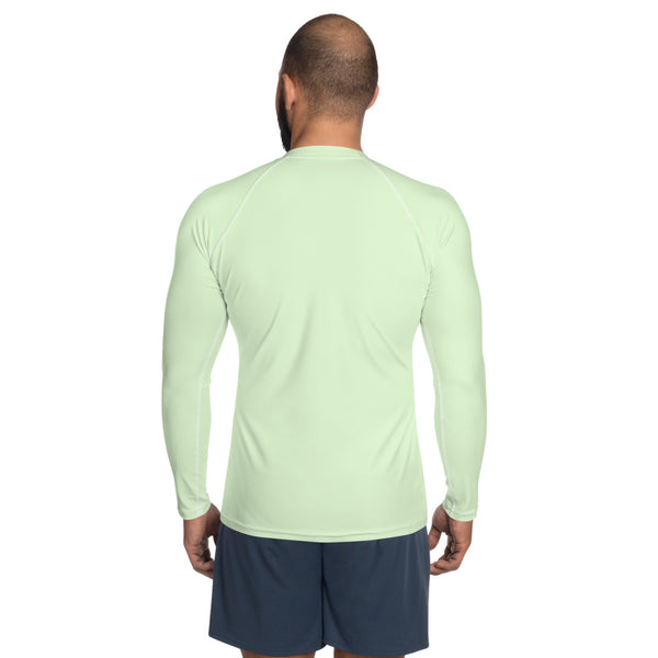The Silent Monk Rash Guard (Green)