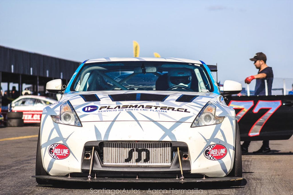Supercharged 370Z racecar