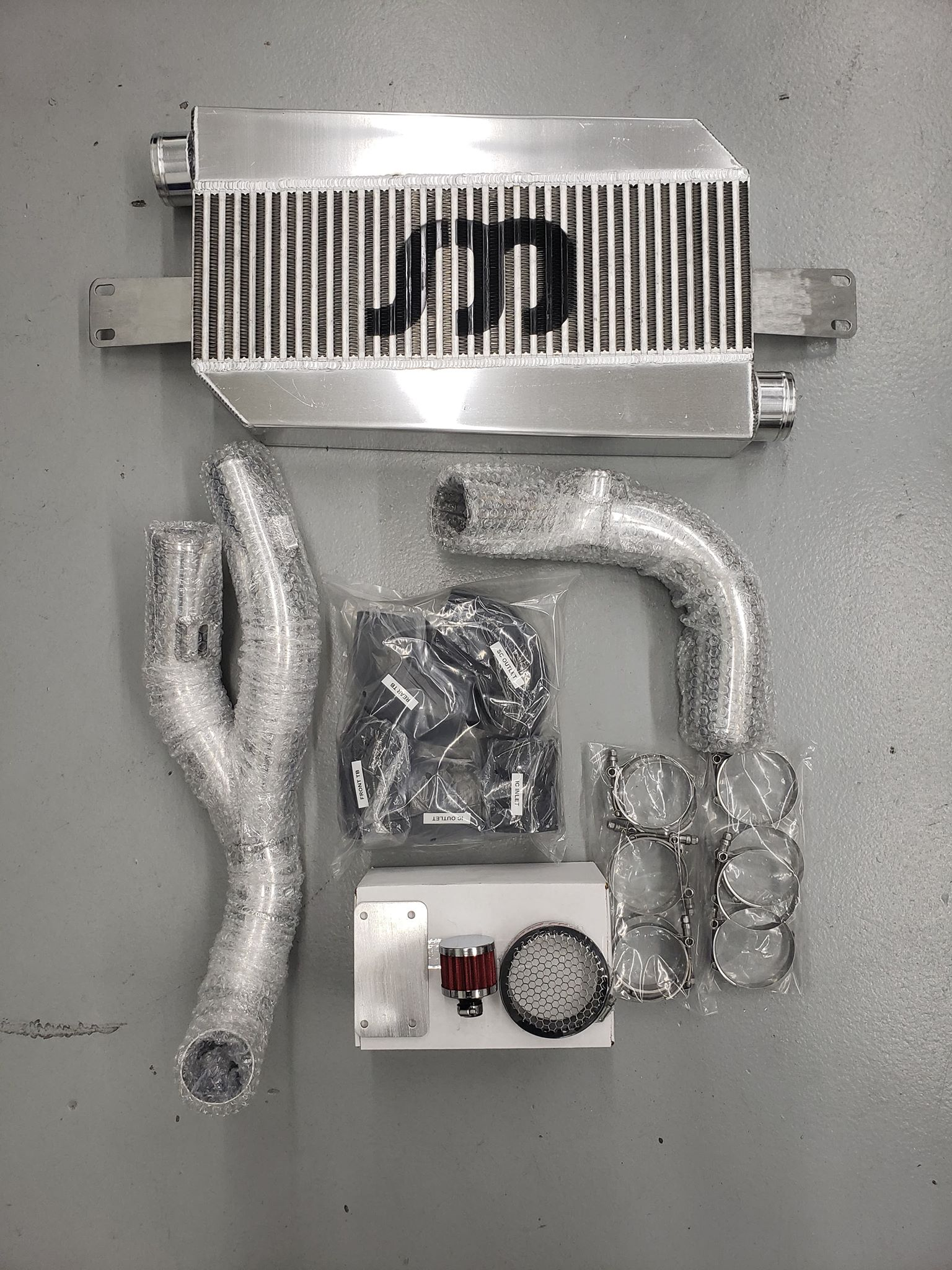 SOHO Motorsports Air to Air Upgrade for the Stillen VQ37VHR Supercharger Kit - SOHO Motorsports