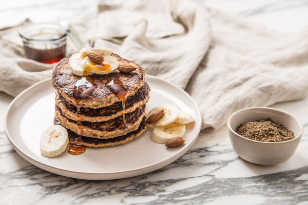 Healthy Banana Pancakes - Powered by Crickets