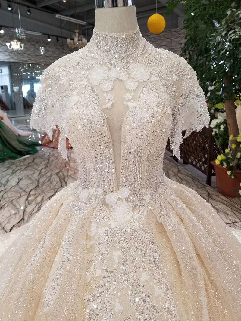 DM #w007 Glamorous Wedding Dress