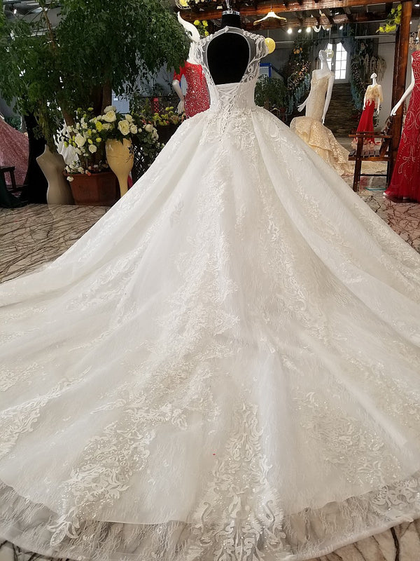 DM #w003 Ball Gown Wedding Dress