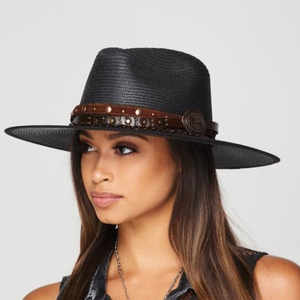 Stampede Rancher Hat in Black